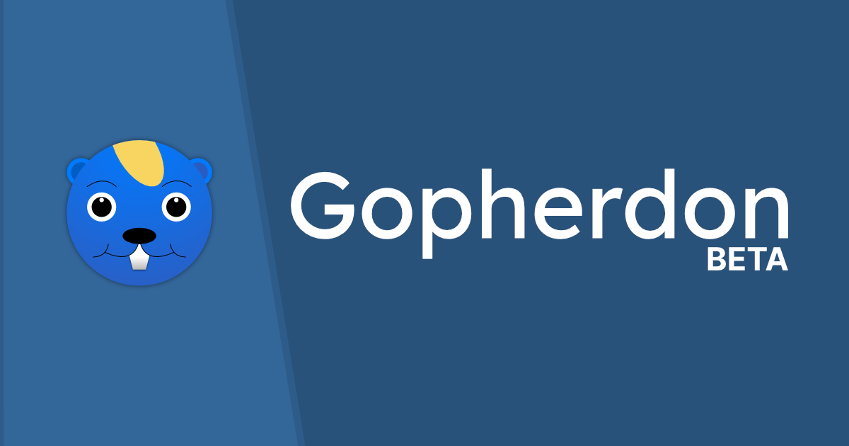 Gopherdon